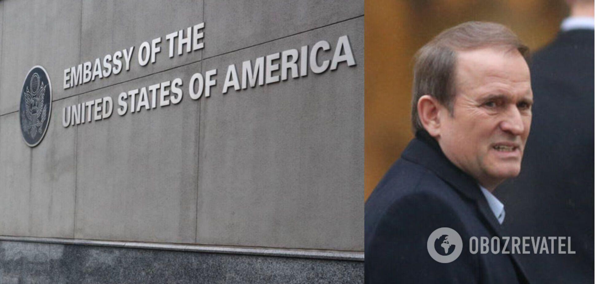 США оценили санкции Украины против Медведчука