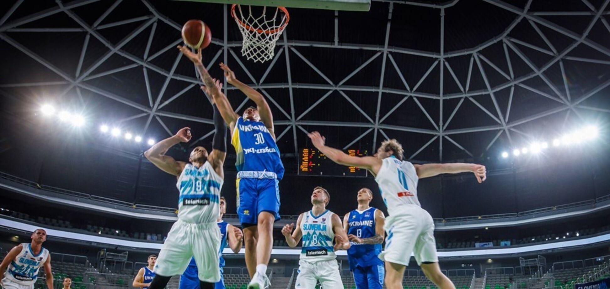 Украина – Словения – 70-65: результат матча отбора на Евробаскет-2022