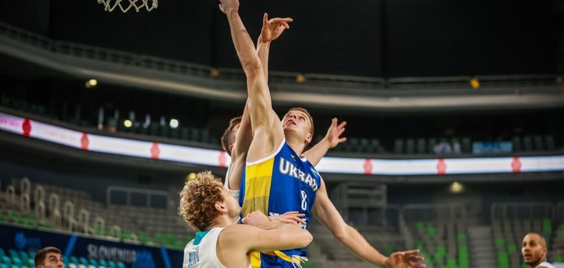 Україна – Словенія – 0-0: відеотрансляція матчу відбору на Євробаскет-2022