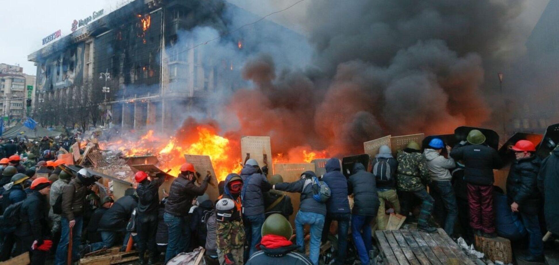 События на Майдане, которые происходили с декабря по февраль 2013-2014 годов
