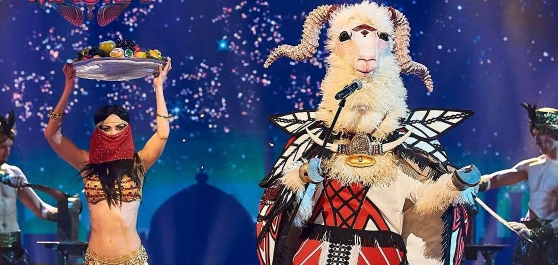 Загадочная Коза на шоу 'Маска'