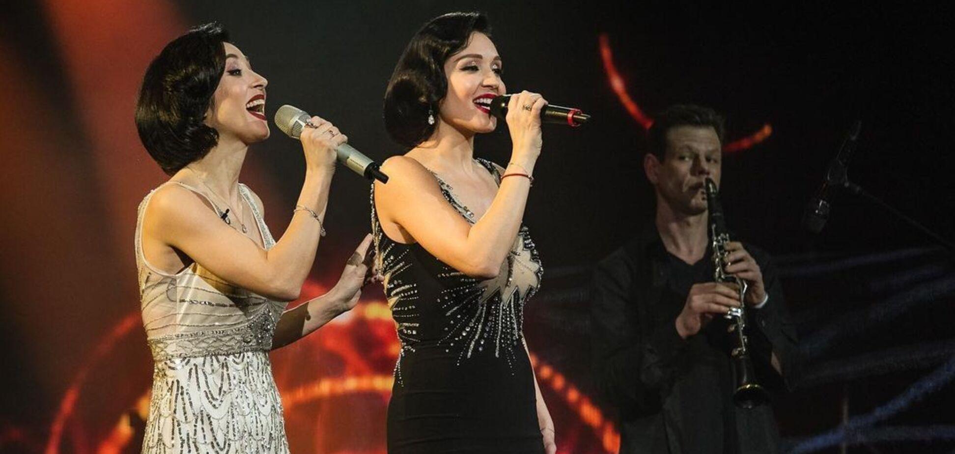 Легендарная группа 'Алиби' выступила на сцене шоу 'Голос країни-11'. Видео