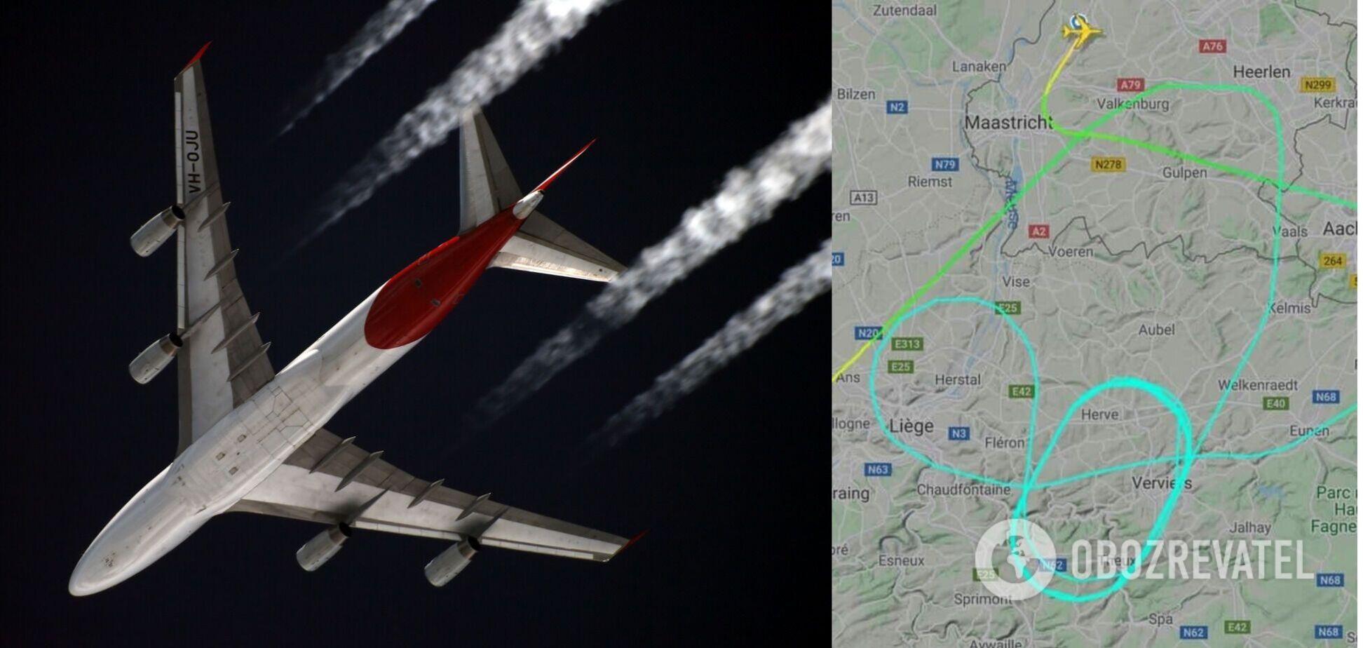 В Нидерландах части двигателя Boeing упали на женщину