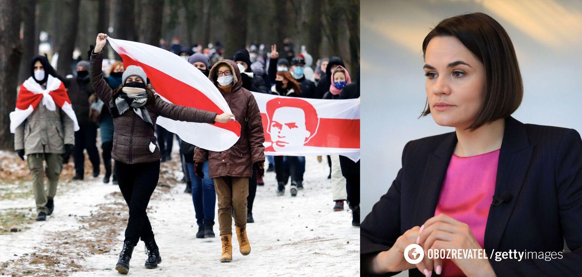 Тихановська визнала, що опозиція в Білорусі 'втратила вулиці'