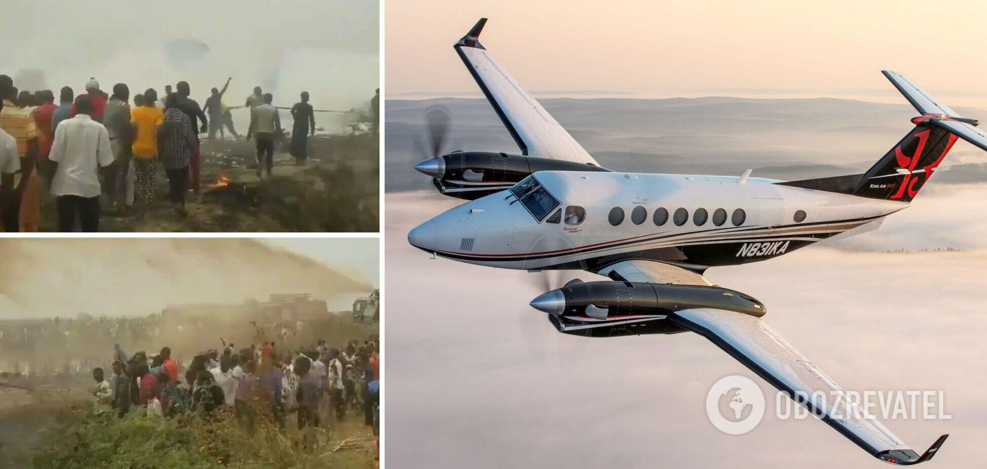 В Нигерии разбился военный самолет