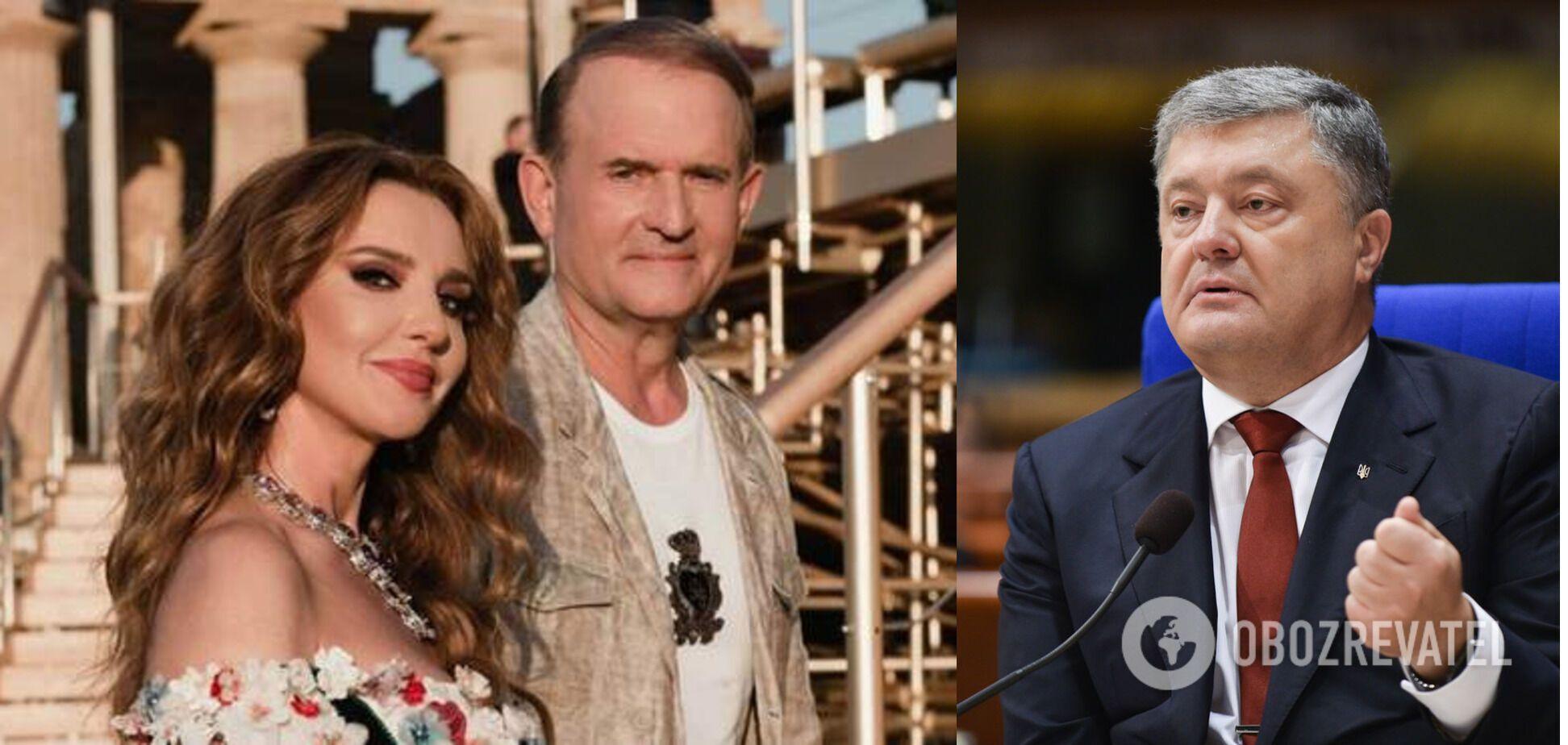 Порошенко про санкції щодо Медведчука: рішення РНБО відповідає національним інтересам