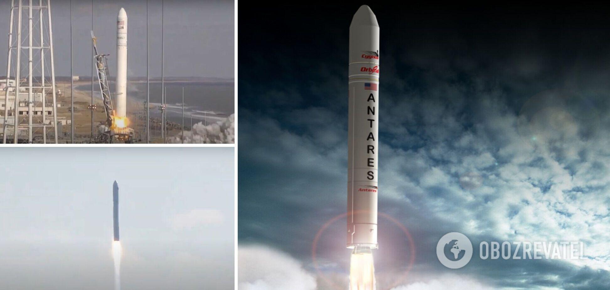 Украинско-американская ракета вывела на орбиту космический корабль. Фото и видео запуска