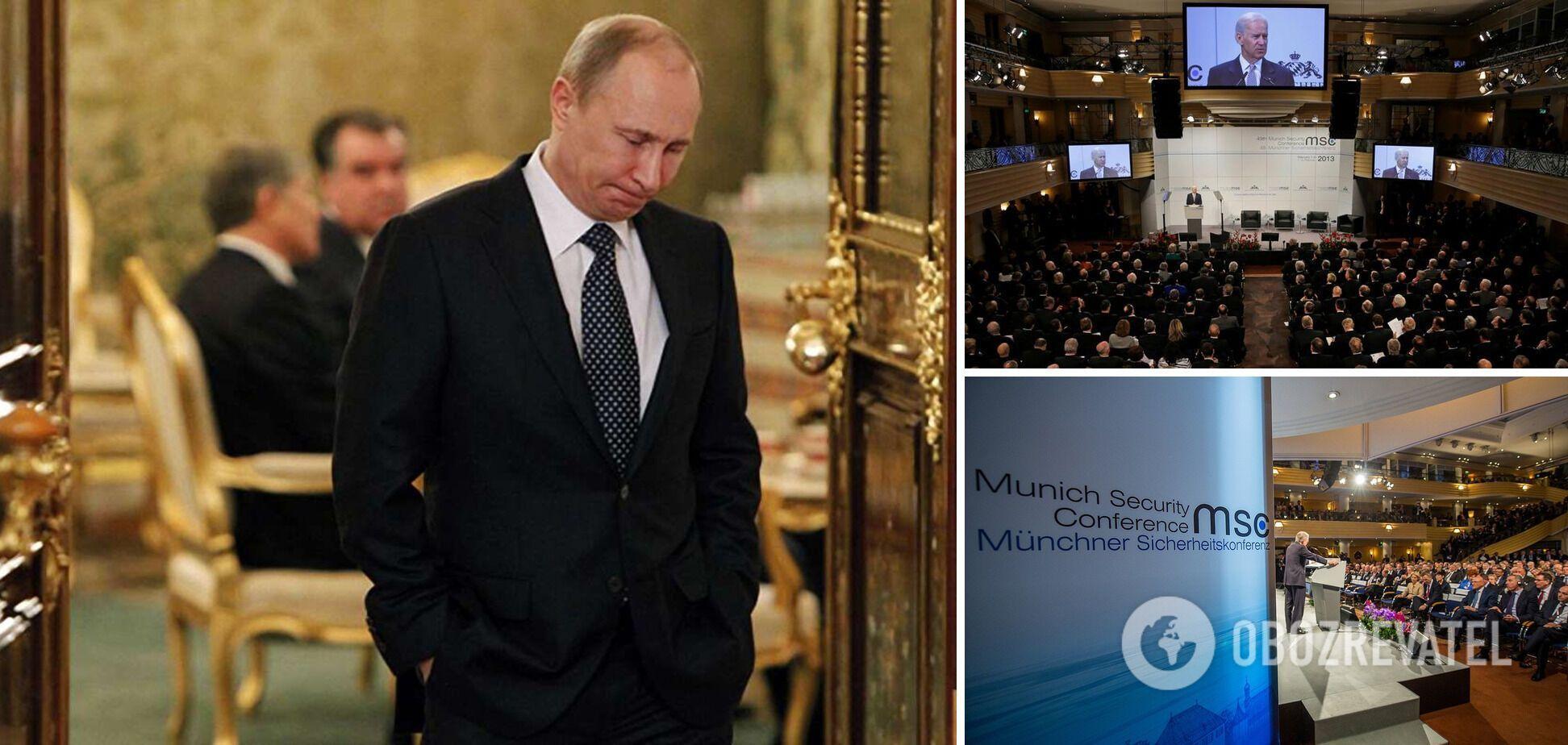 'Мюнхен' без Путіна: війна в Україні загнала Росію в ізоляцію