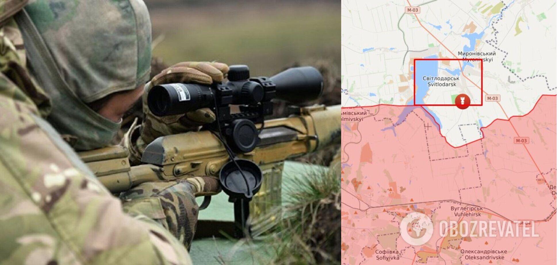 Снайперы РФ обстреляли ВСУ и получили ответ – штаб ООС