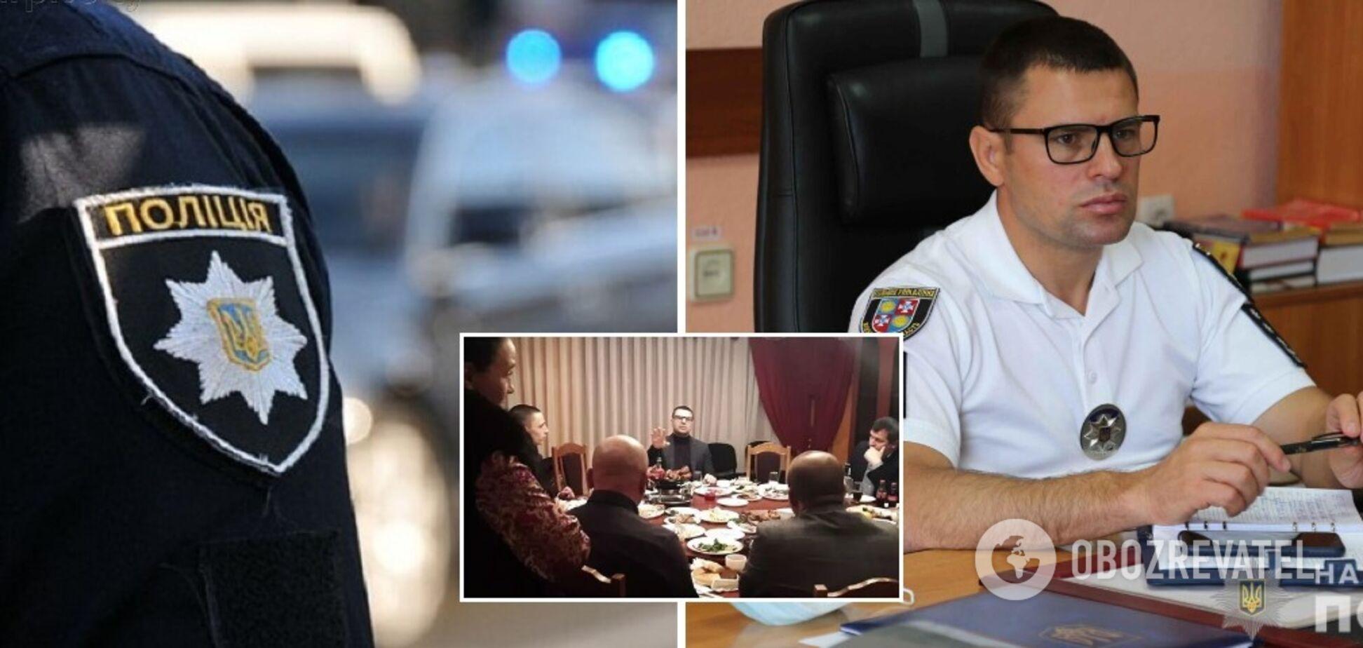 Руководство винницкой полиции попало в скандал