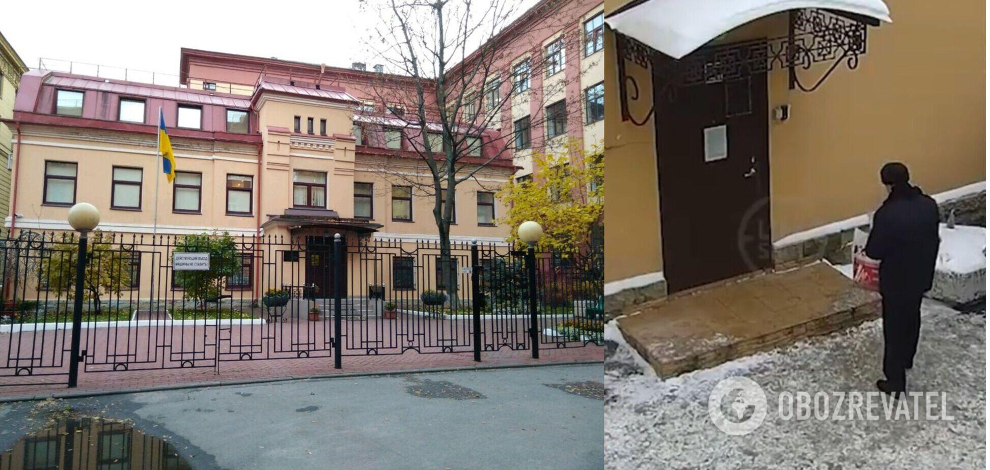 В Петербурге арестовали россиянина, напавшего с ножом на сотрудника генконсульства Украины