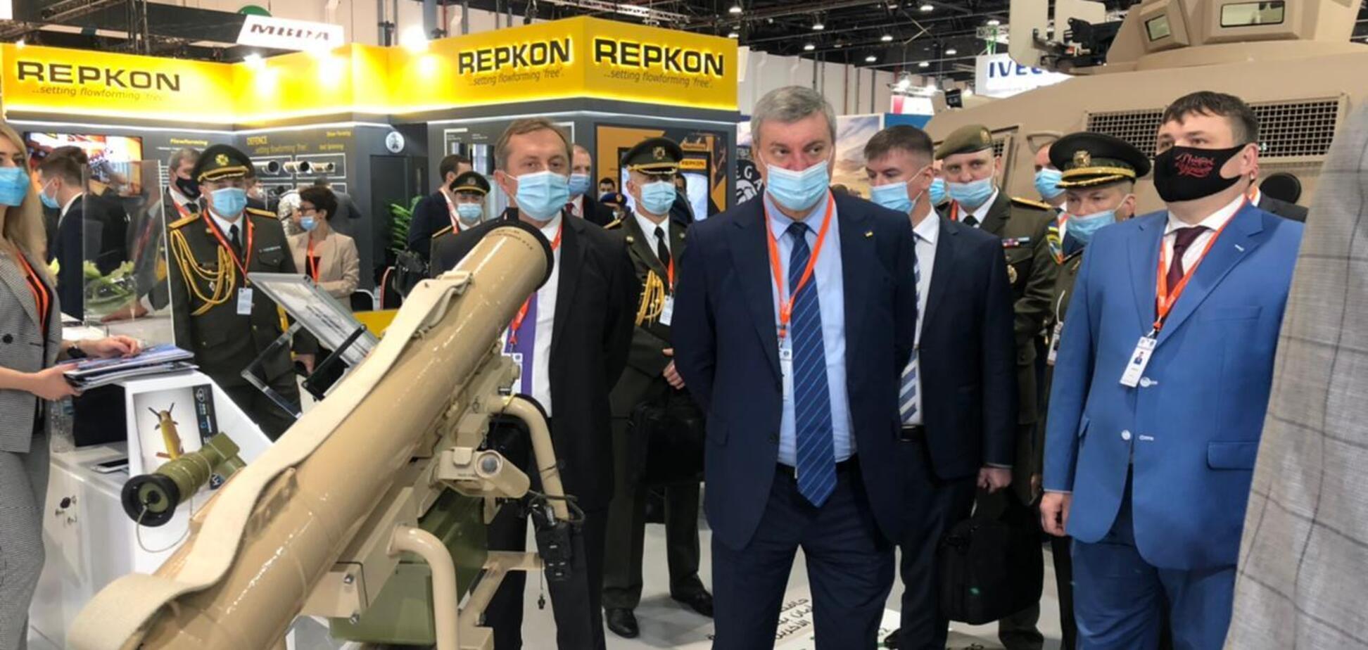 'Укроборонпром' презентує сучасне озброєння на виставці в ОАЕ