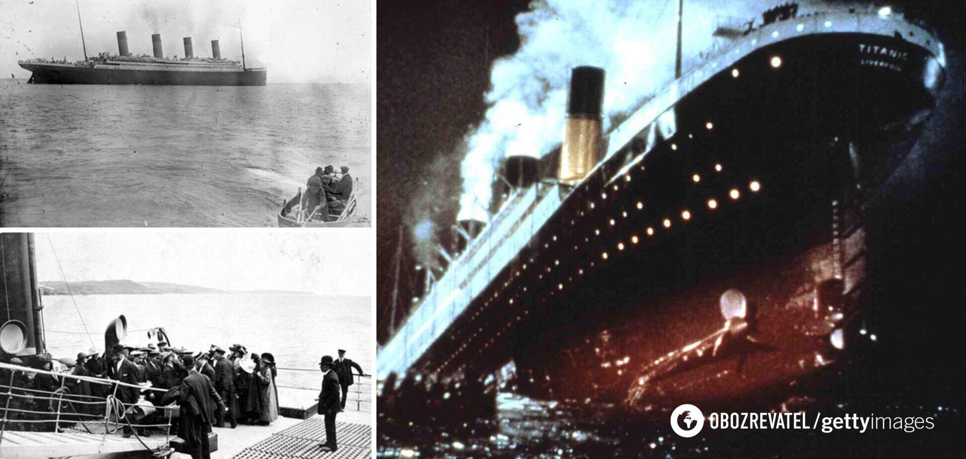 Титанік історія