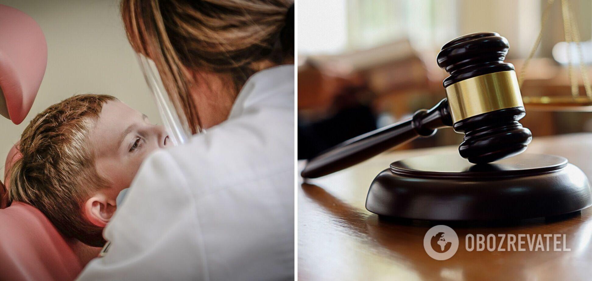 У Рівному відбувся суд над стоматологинею, підозрюваною в побитті дітей