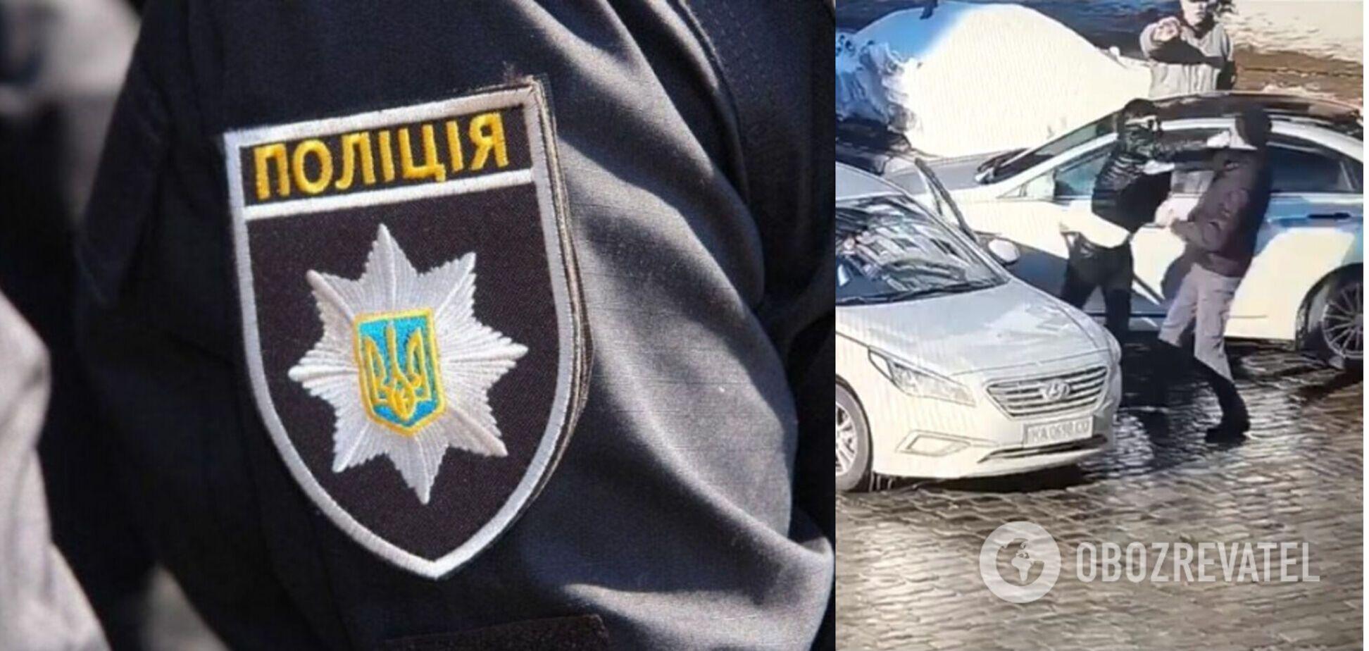 Стало відомо, кого в центрі Києва вбив двома ударами таксист