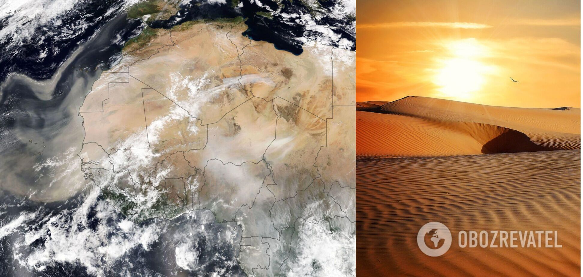 Пісок із Сахари знову йде до Європи