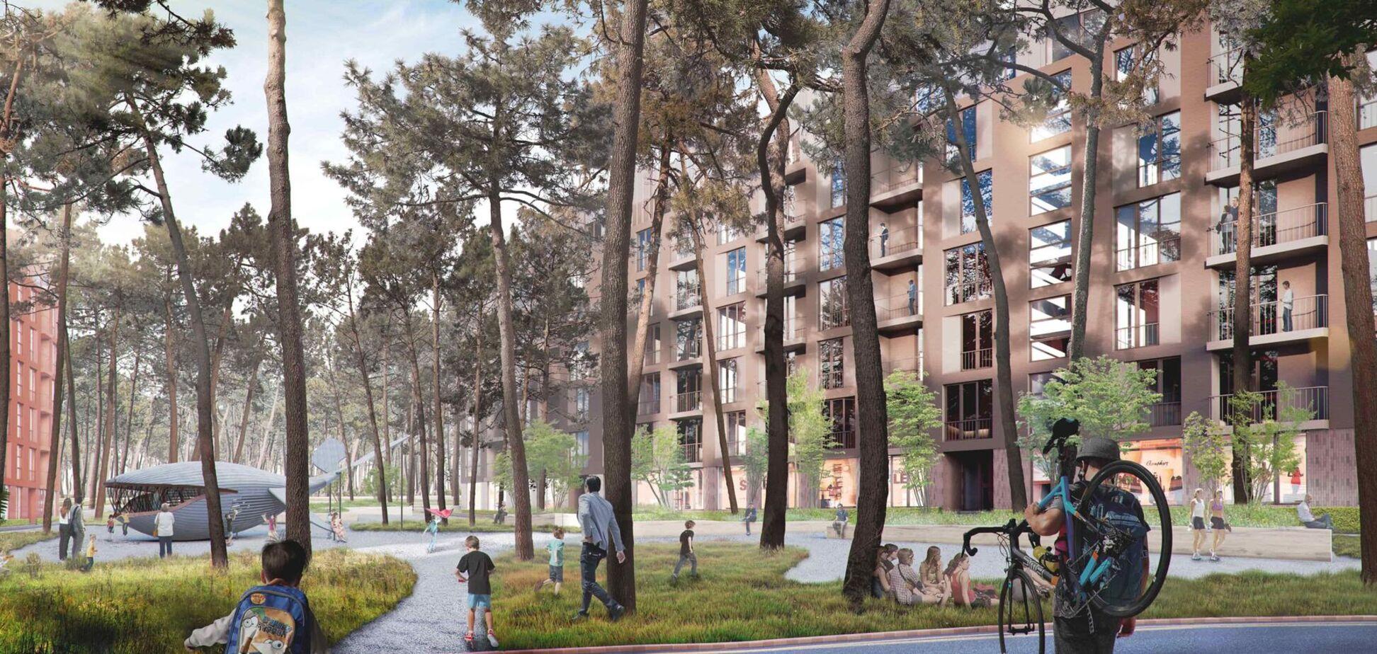 С каждым годом появляется все больше проектов, где акцент сделан на экологии и комфортных пространствах