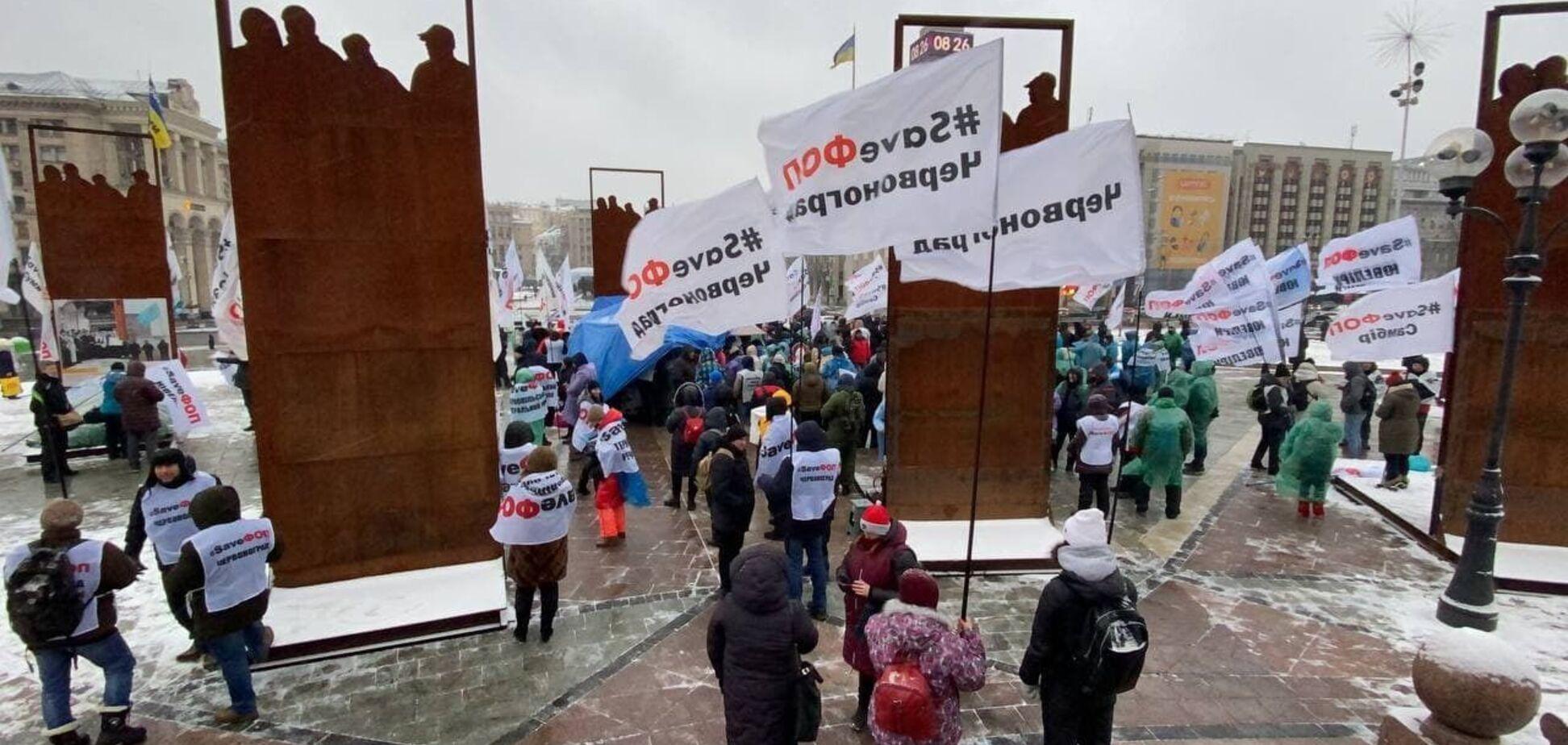 'ФОПовцы' собрали миллионы на протесты, а их организаторы к мелкому бизнесу отношения не имеют: расследование
