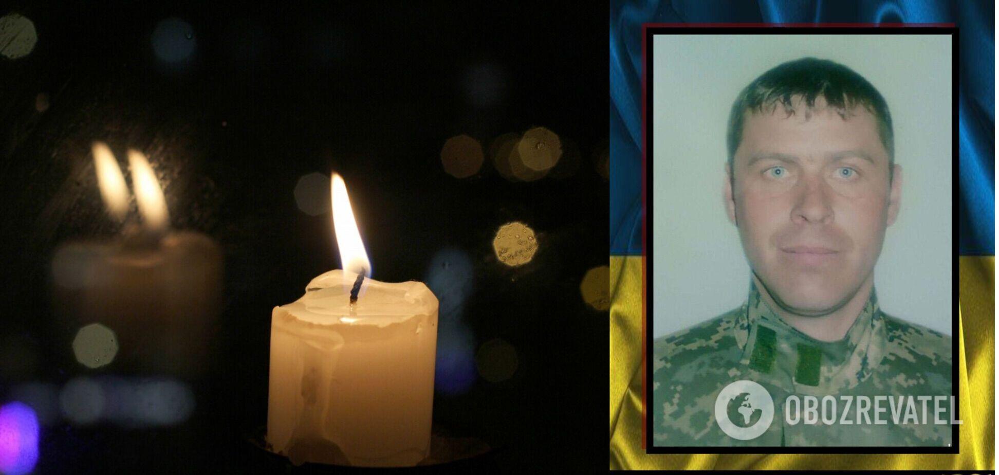 На Донбасі вбили воїна ЗСУ