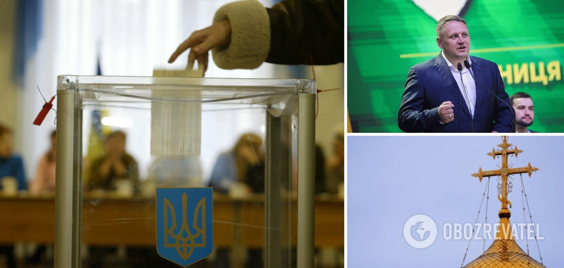 Кандидат в нардепы Александр Шевченко устроил агитацию в церквях