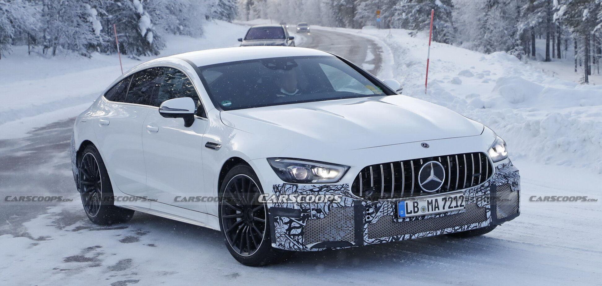 Mercedes-AMG GT 73e PHEV станет самым мощным в истории марки