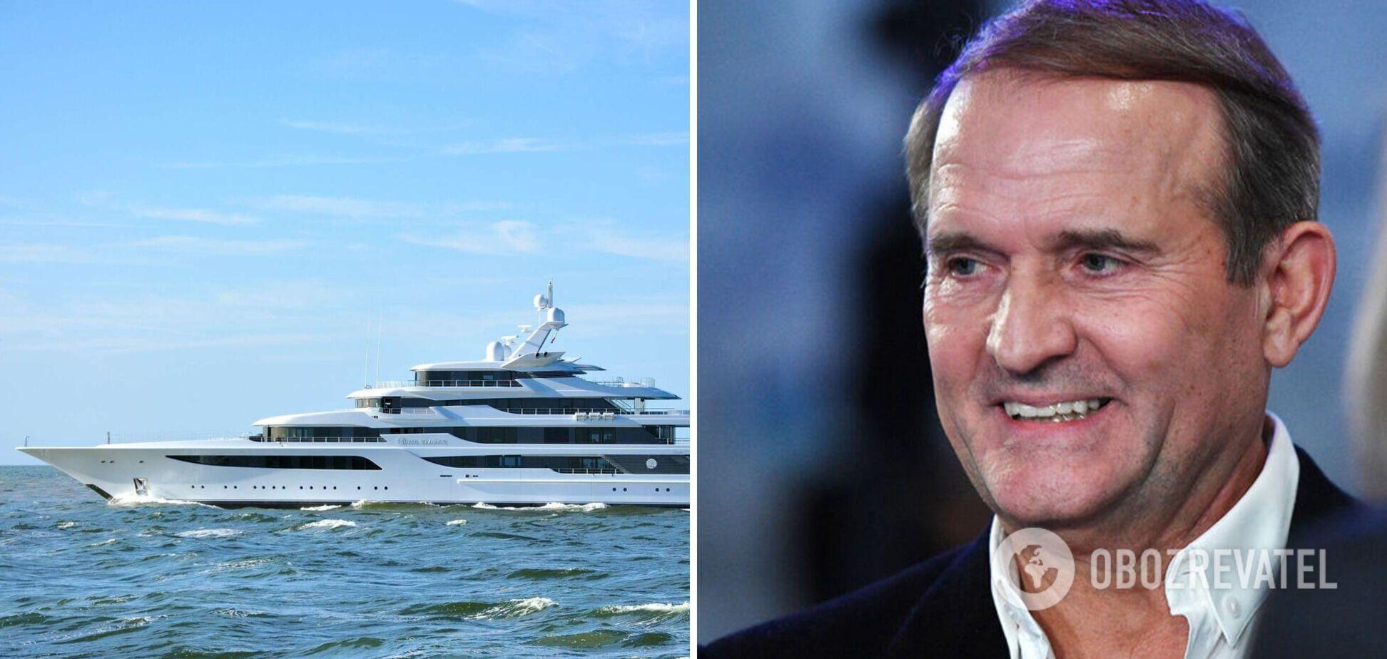 Яхта Медведчука стоимостью $200 млн обошла санкции – СМИ