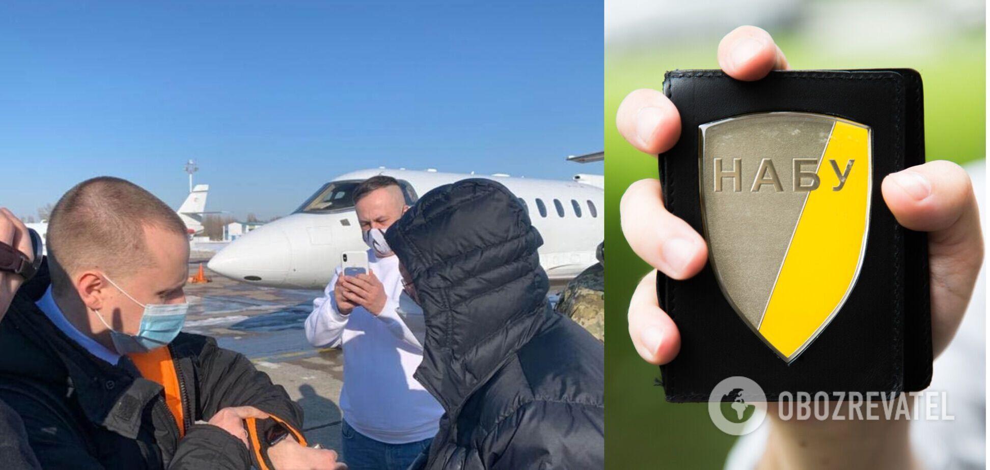 З'явилося відео затримання Яценка в 'Борисполі'
