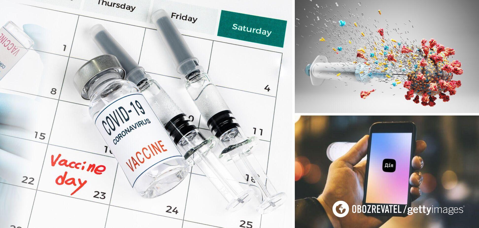 Щеплення проти коронавірусу в Україні: як записатися і кому буде доступне