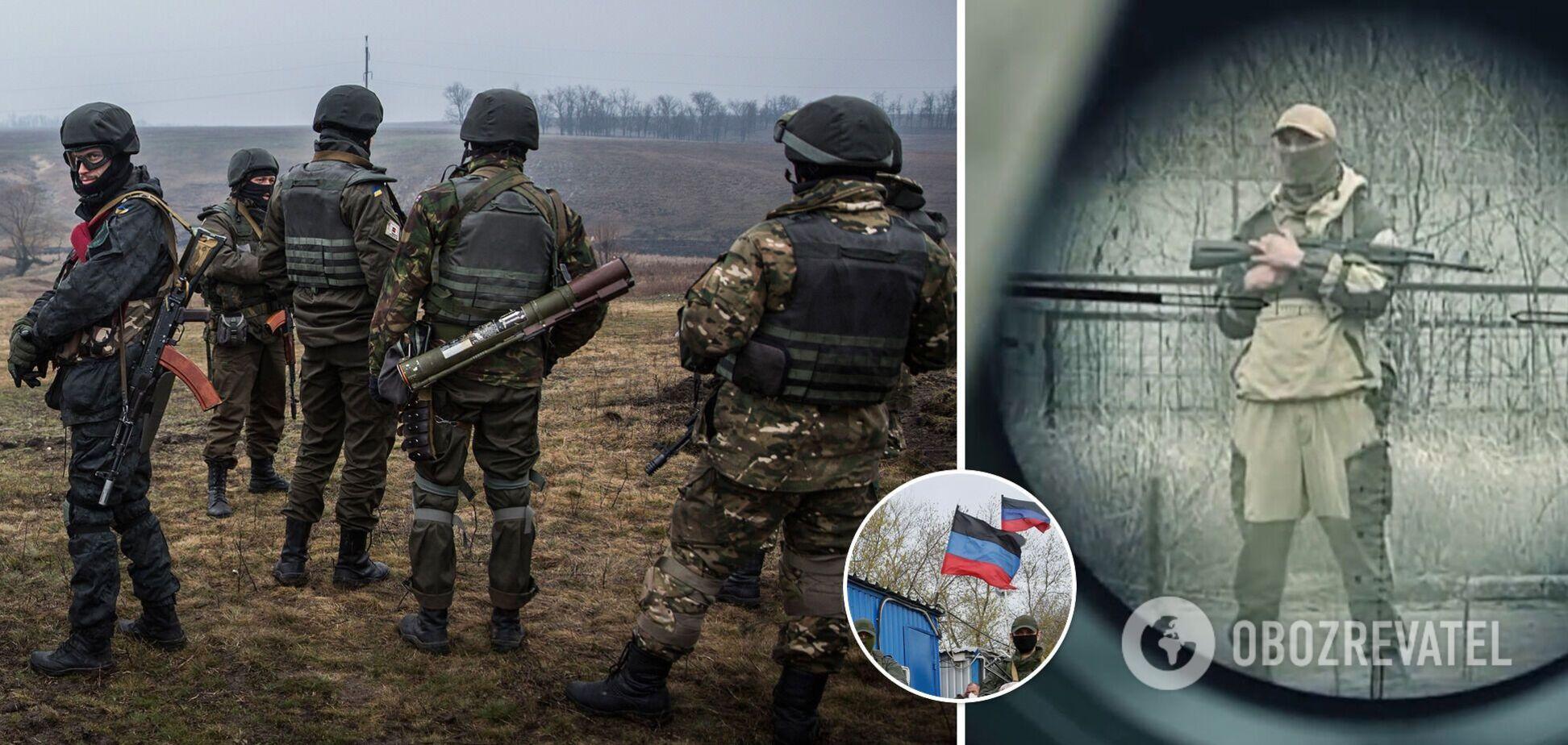 Пророссийские террористы усилят обстрелы на Донбассе к лету, считает бывший украинский разведчик