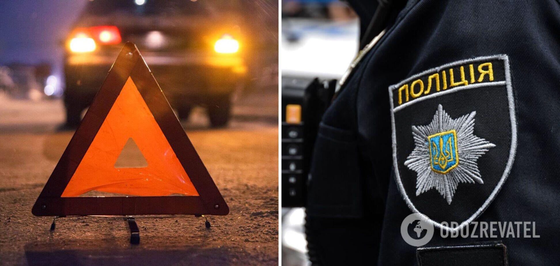На Хмельнитчине пьяный полицейский насмерть сбил женщину и скрылся