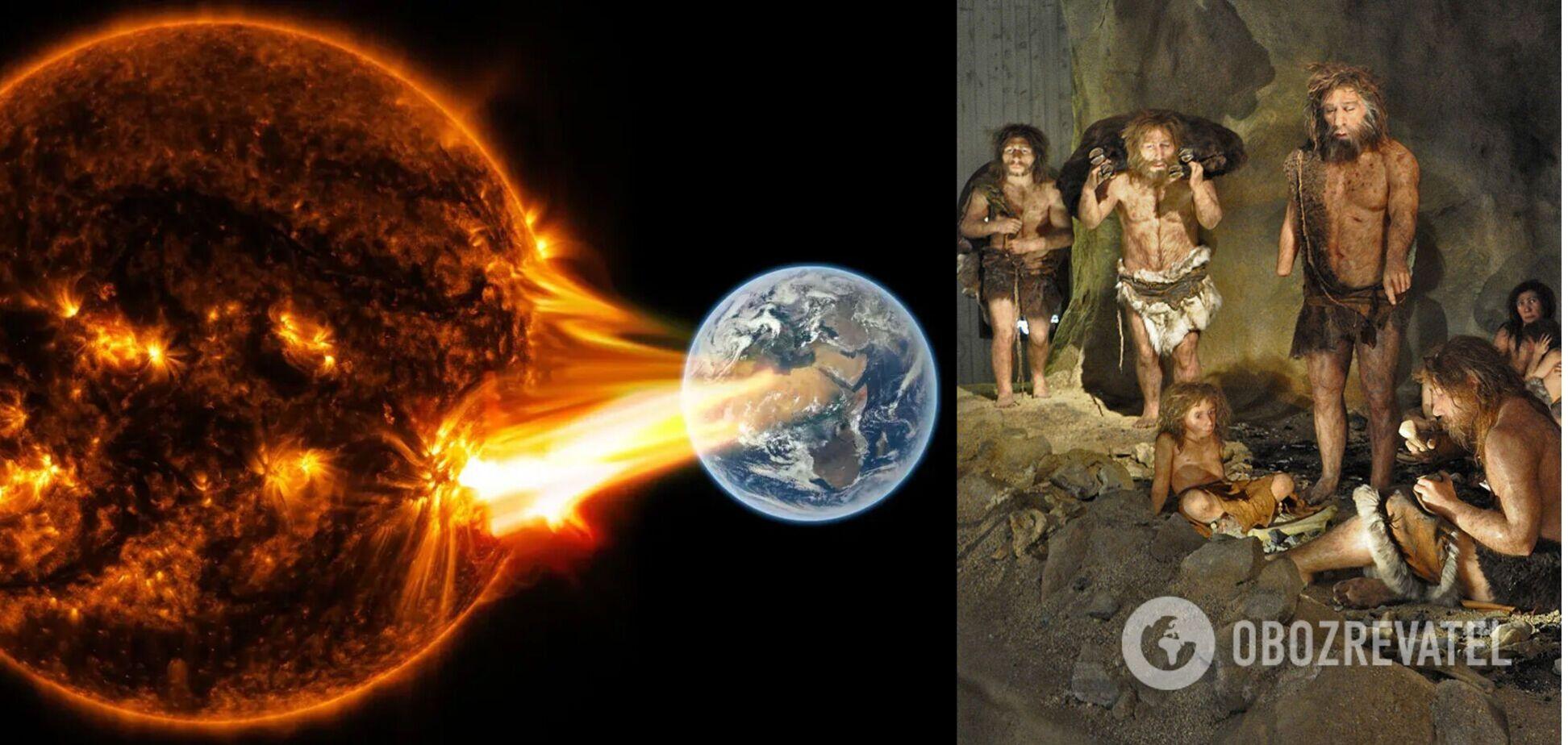 Земле угрожает катастрофа, что уничтожила предков человека