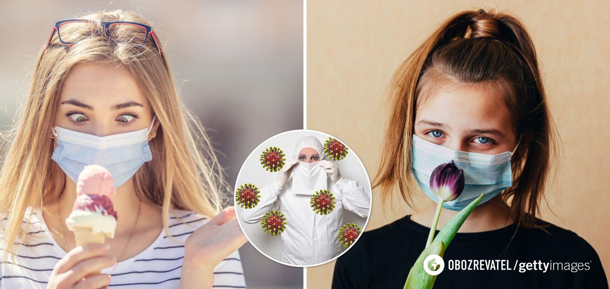 Відчуття смаку й нюху можуть не повернутися і через 5 місяців після COVID-19 – дослідження