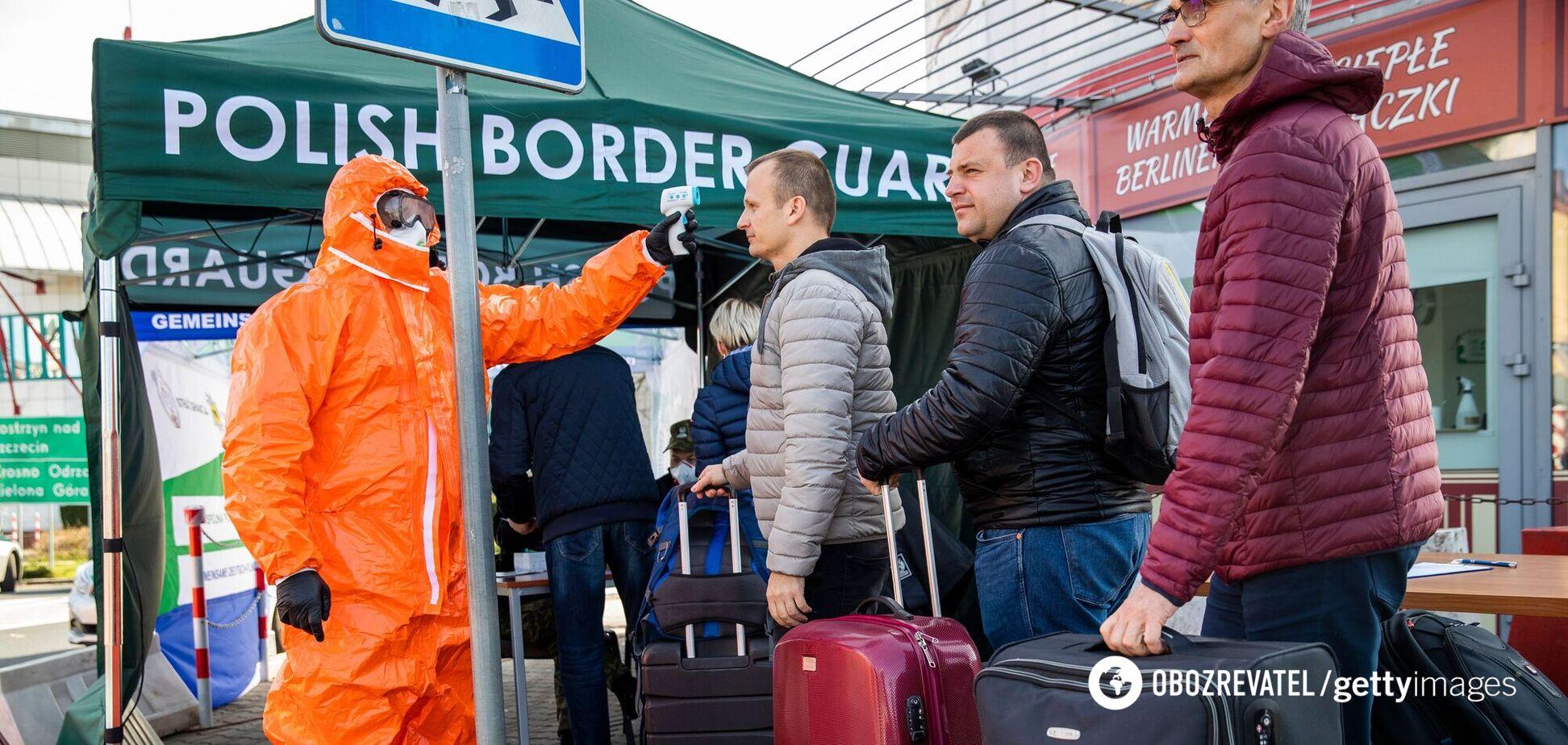 У Польщі змінять правила в'їзду в країну: що нового для українців