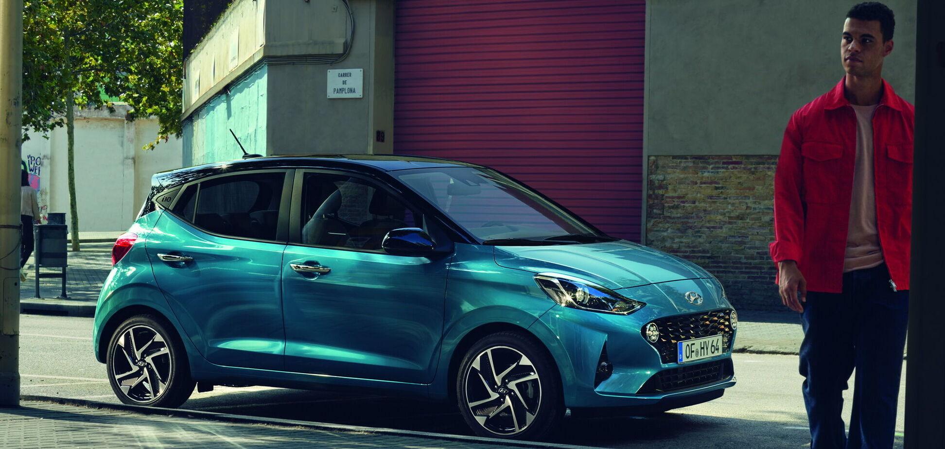В Украине стартовали продажи нового Hyundai i10