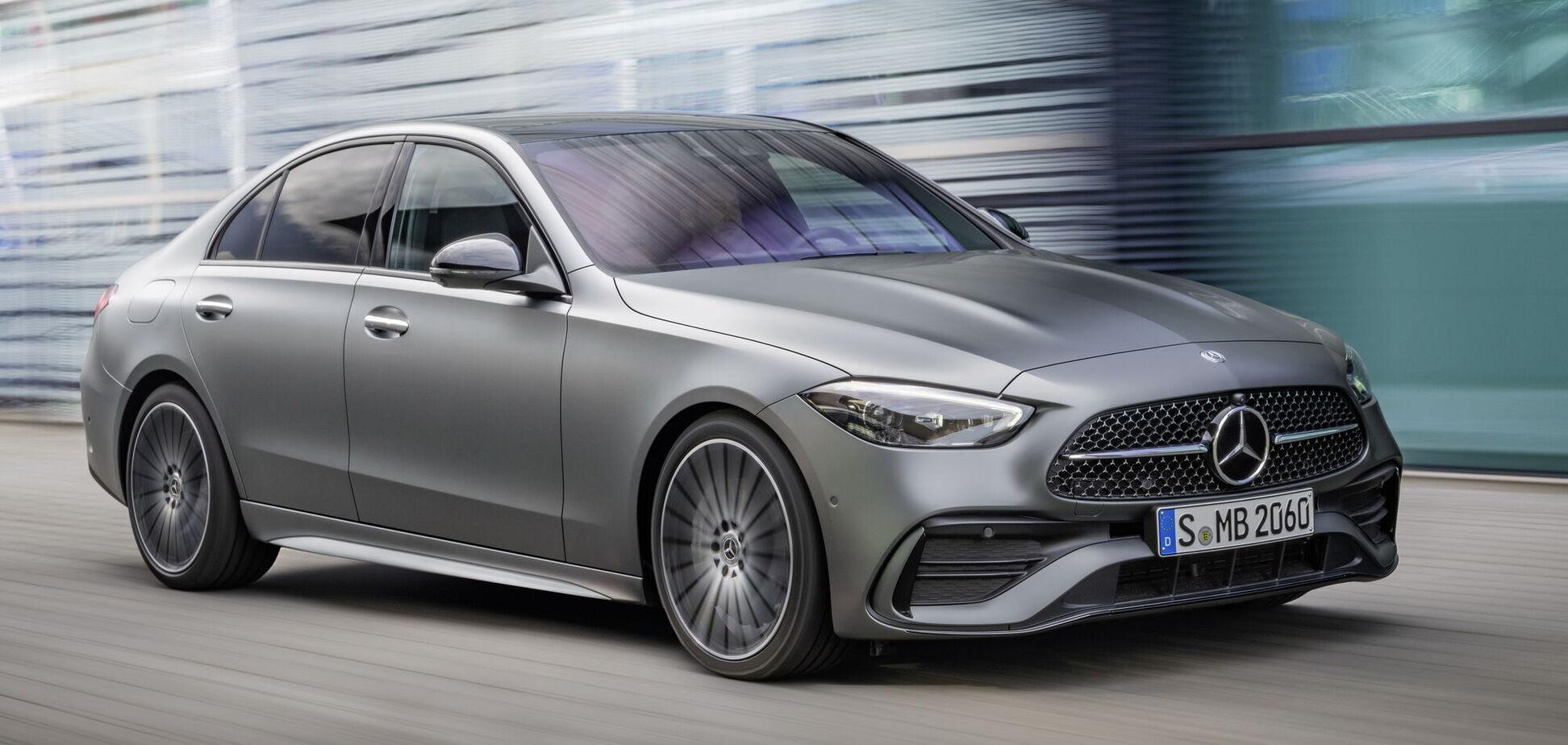 Новый Mercedes-Benz C-Class представлен онлайн