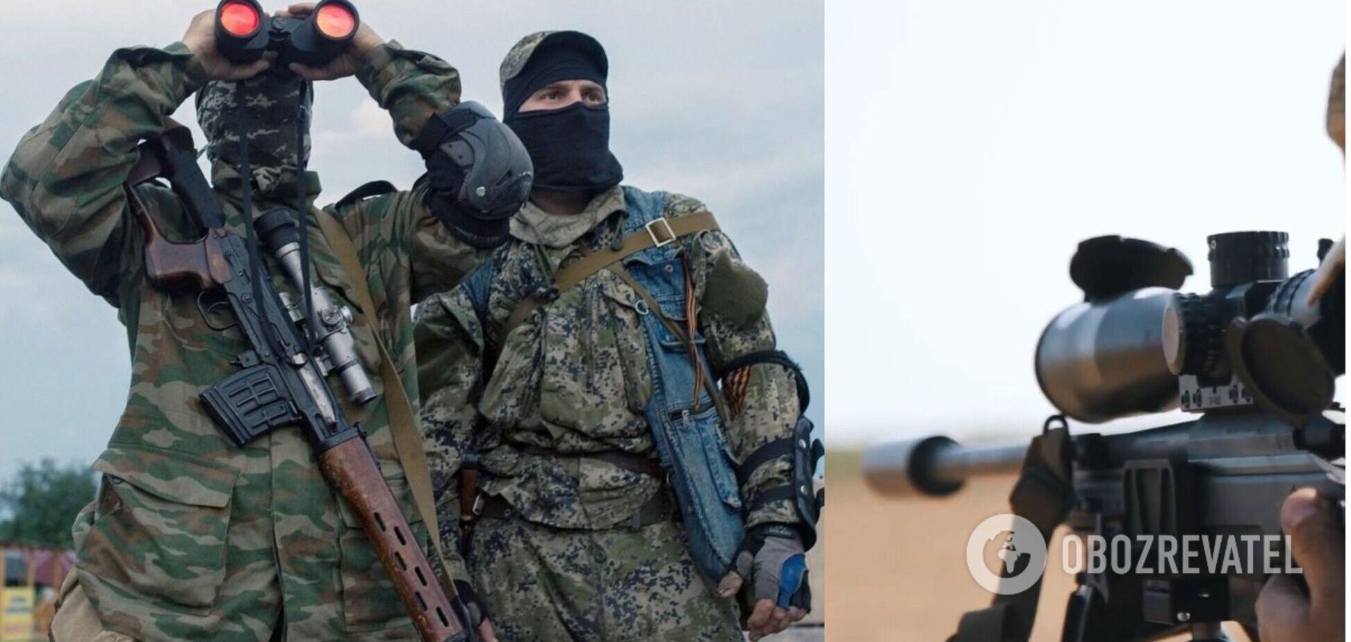 Росія перекинула на Донбас снайперів – розвідка