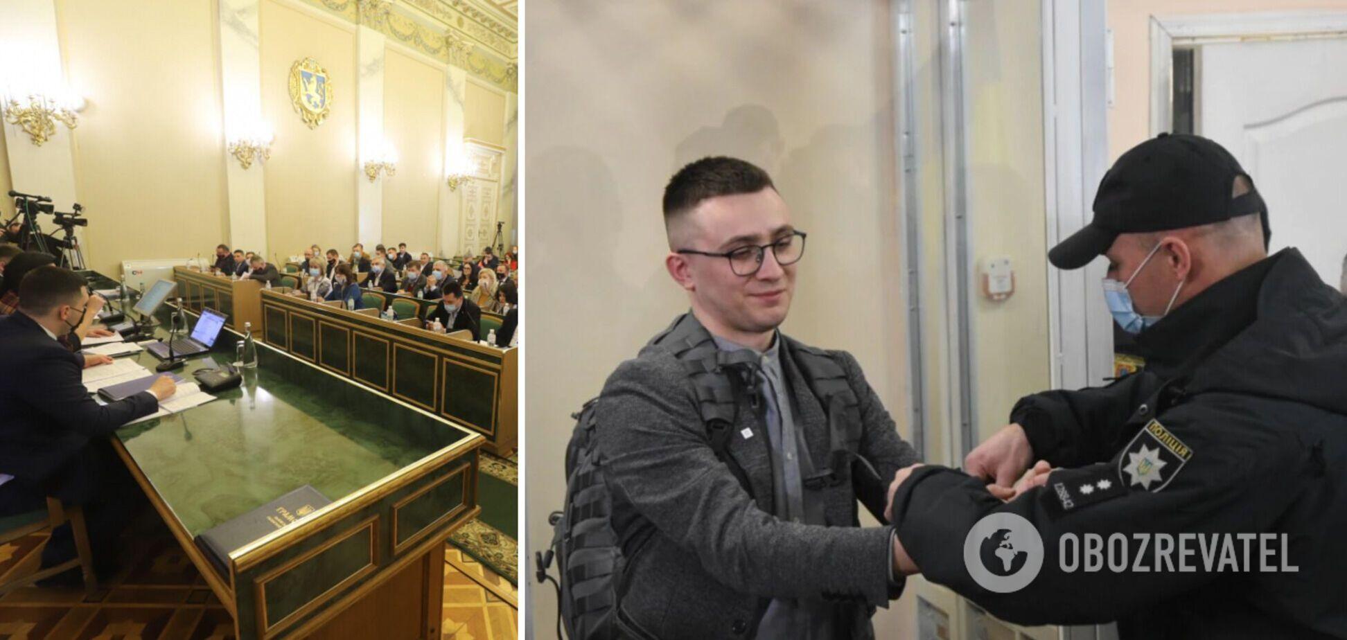Львівська облрада звернулася до Зеленського та Венедіктової через вирок Стерненку