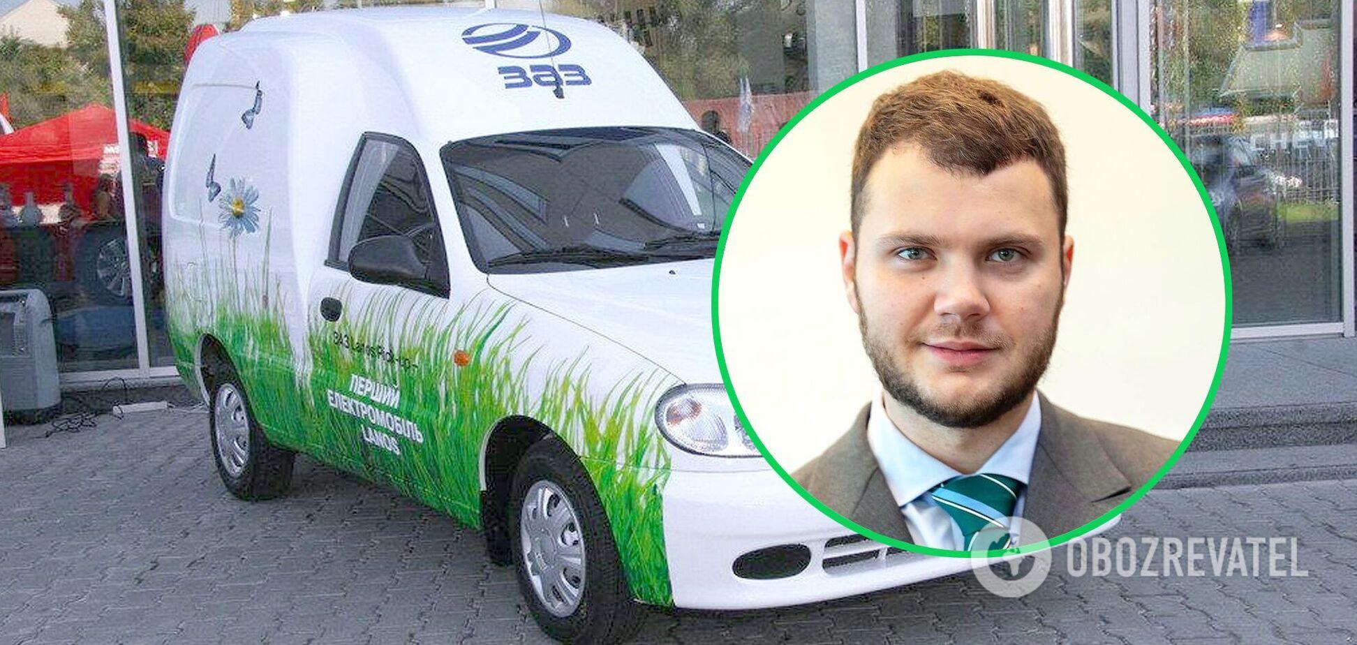 Криклій анонсував українське виробництво електромобілів