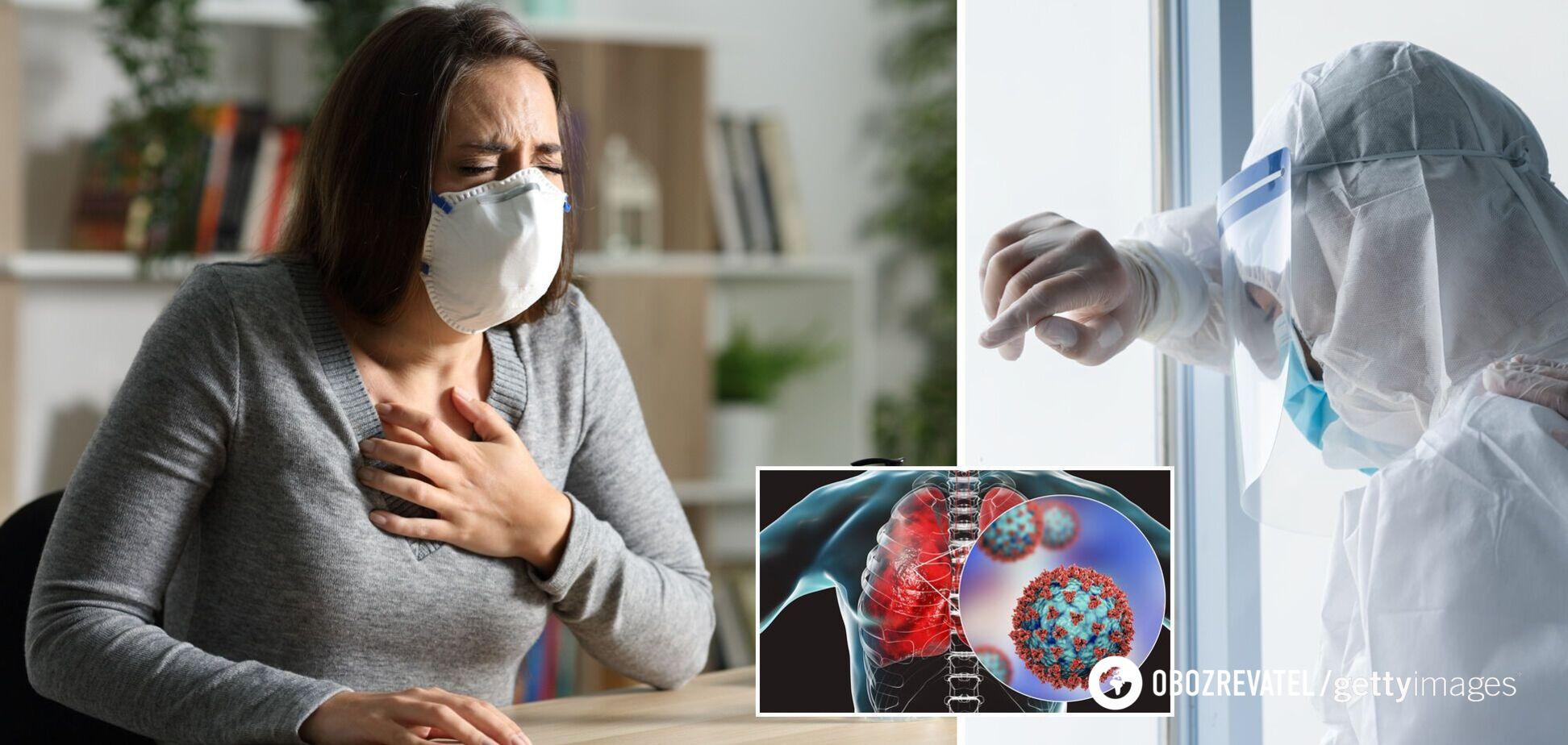 На Закарпатті виявили нові симптоми COVID-19: мутація викликала діарею і глухоту