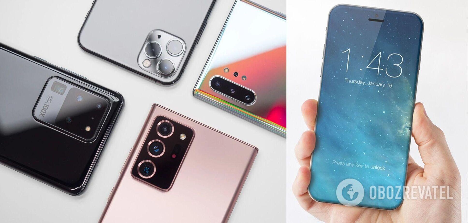 Названо 5 нових особливостей смартфонів у 2021 році