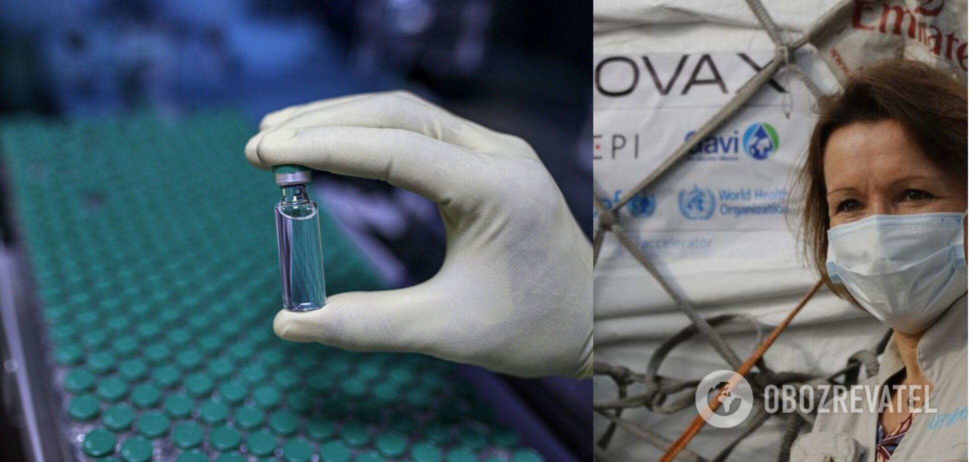 Перша країна вже отримала вакцину за програмою COVAX