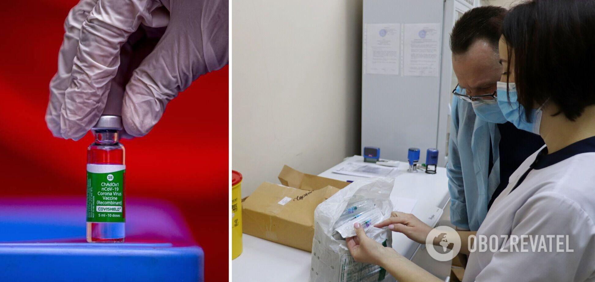 Чернігівщина однією з перших отримала 6,8 тисячі доз вакцини від COVID-19