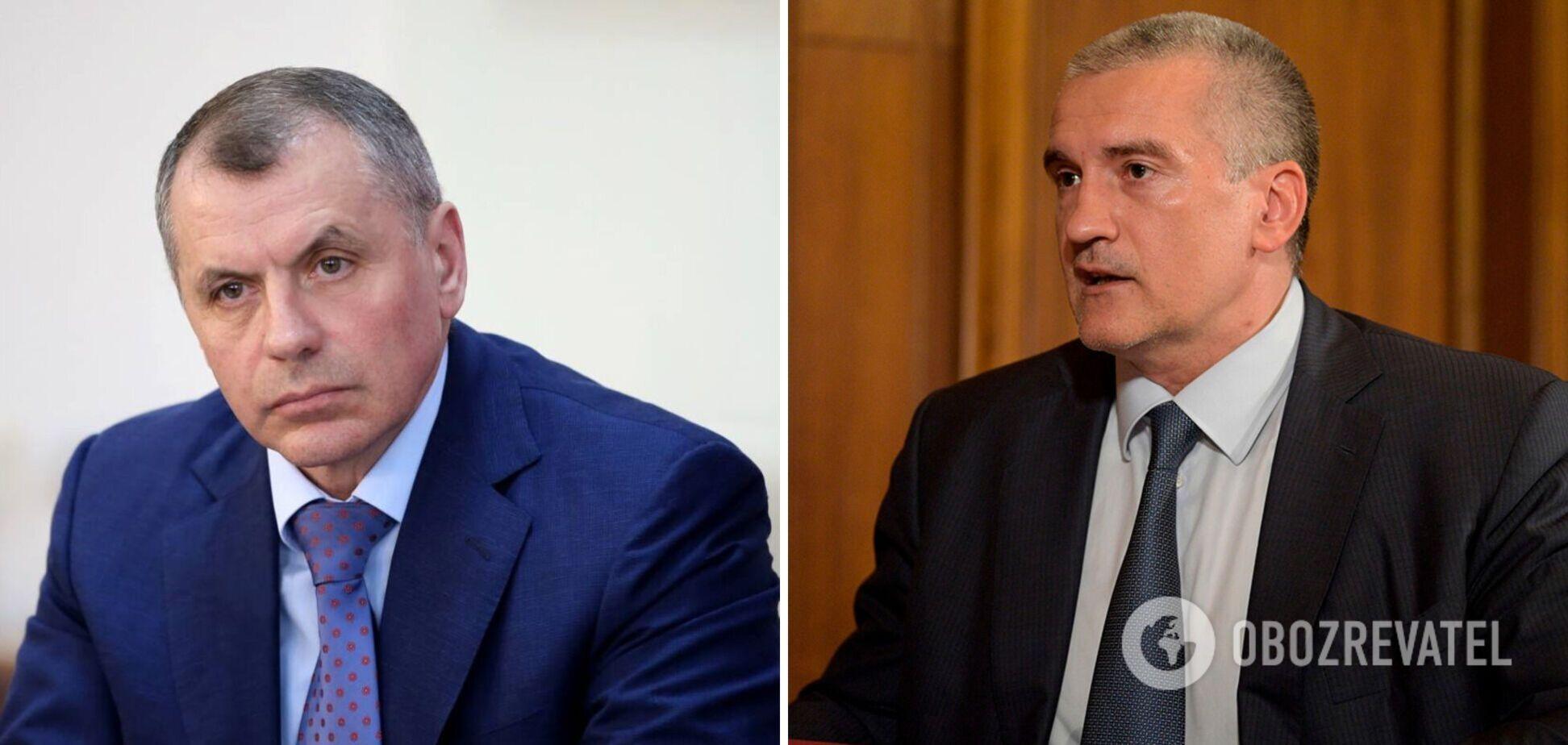 Україна повідомила про підозру 'керівникам' Криму Аксьонову та Константинову