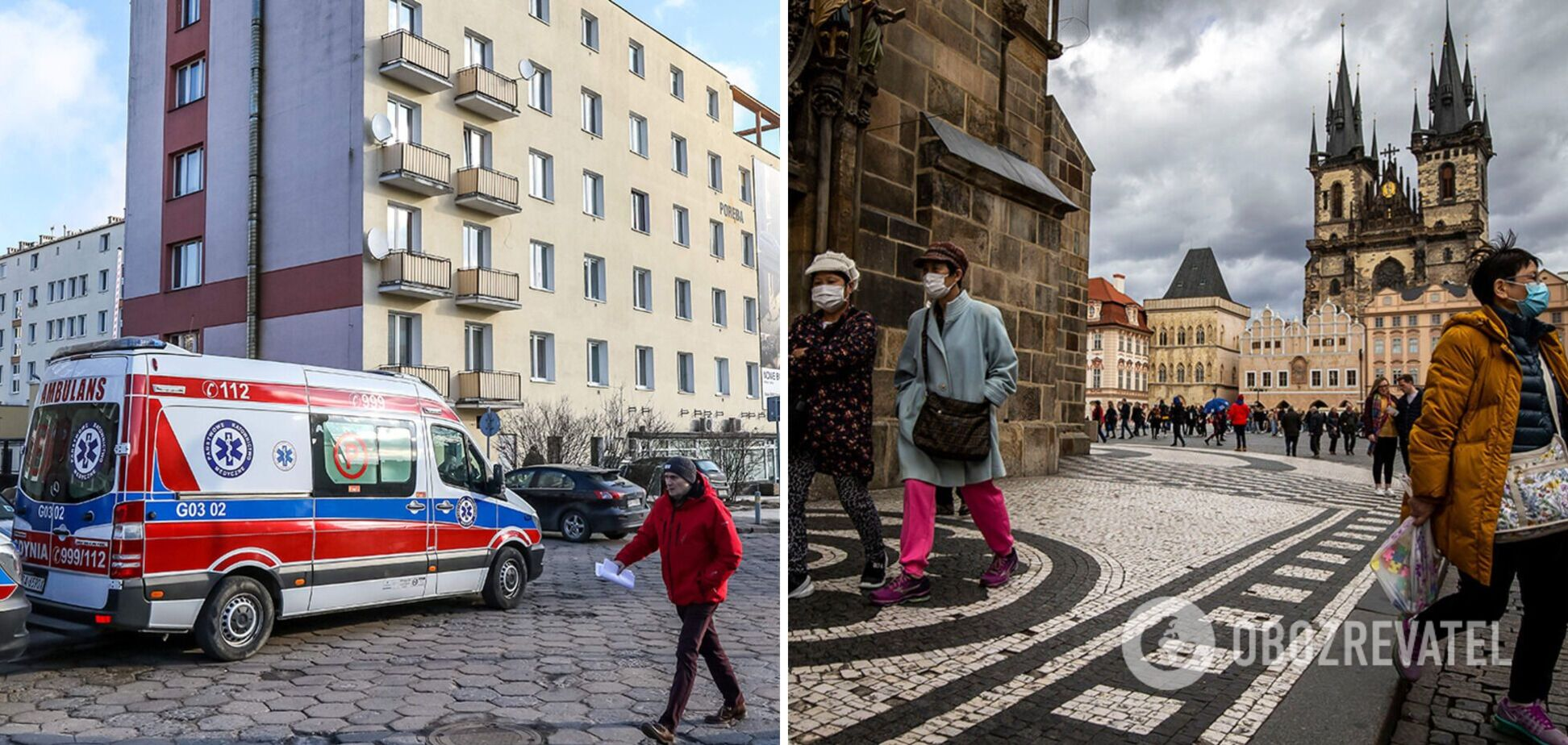 Пандемия коронаввируса в Европе