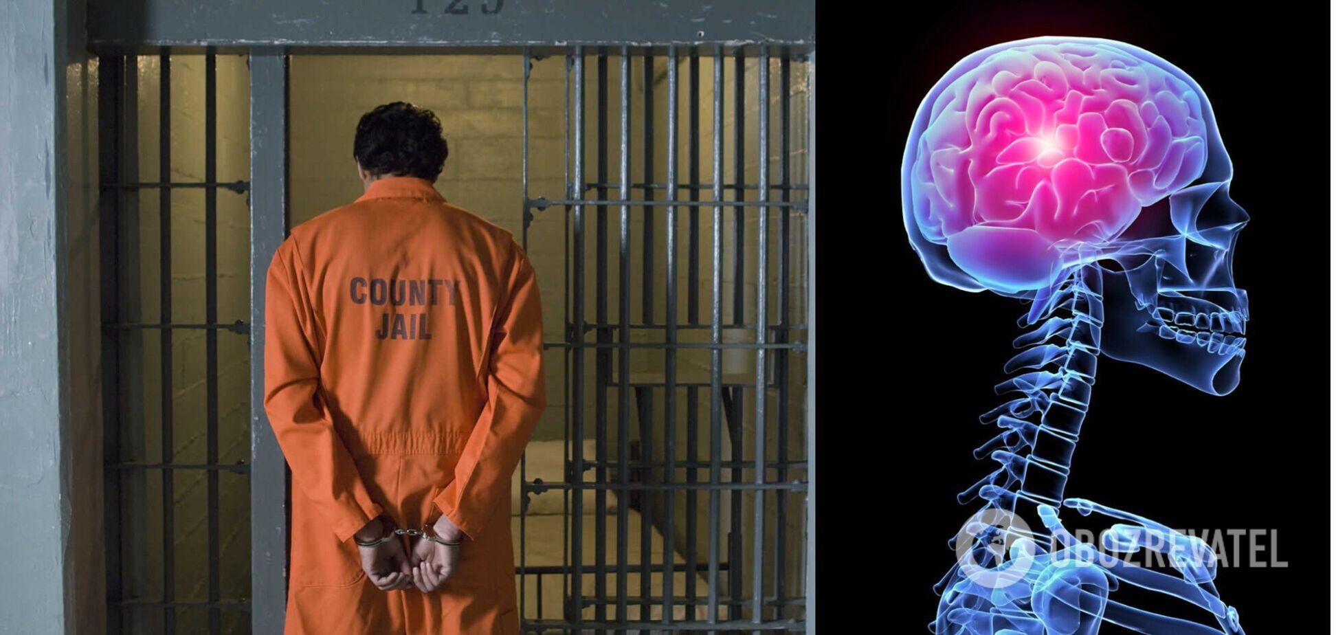 Изучен мозг психопатов в тюрьмах: опубликованы результаты