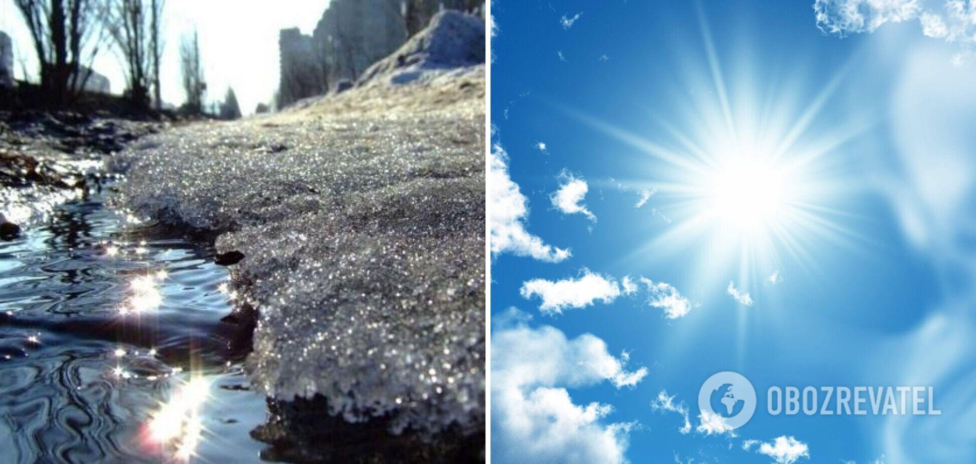 В Україні потеплішає і підвищиться рівень води в річках: прогноз погоди на четвер