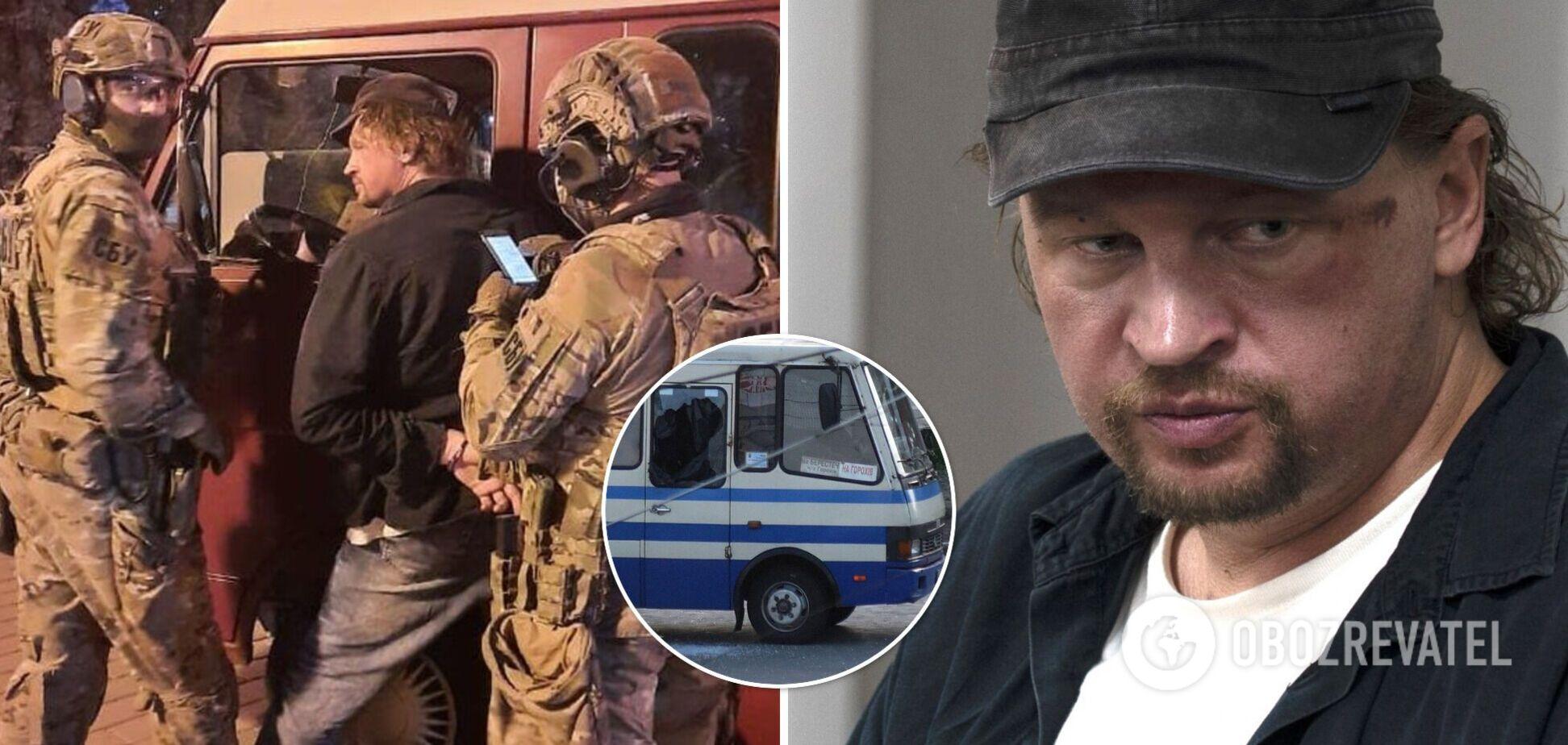 луцький терорист Максим Кривош