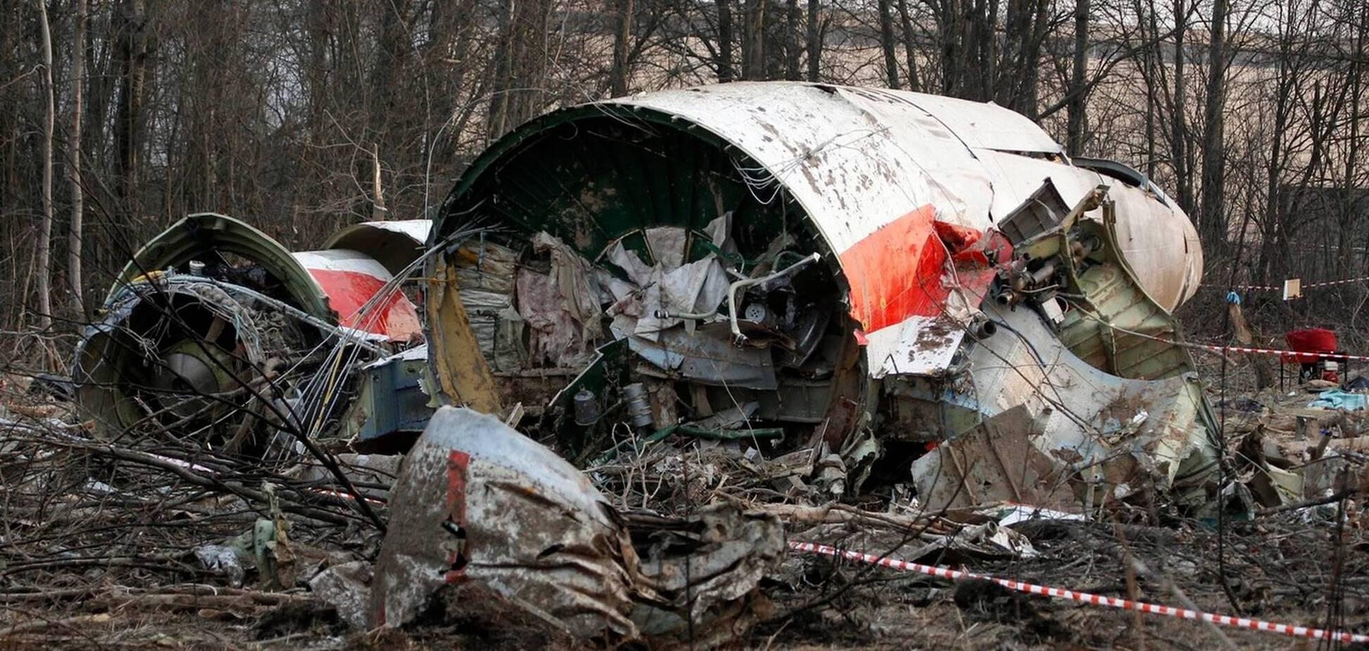 Поляки назвали причиною катастрофи літака Качинського детонацію вибухівки