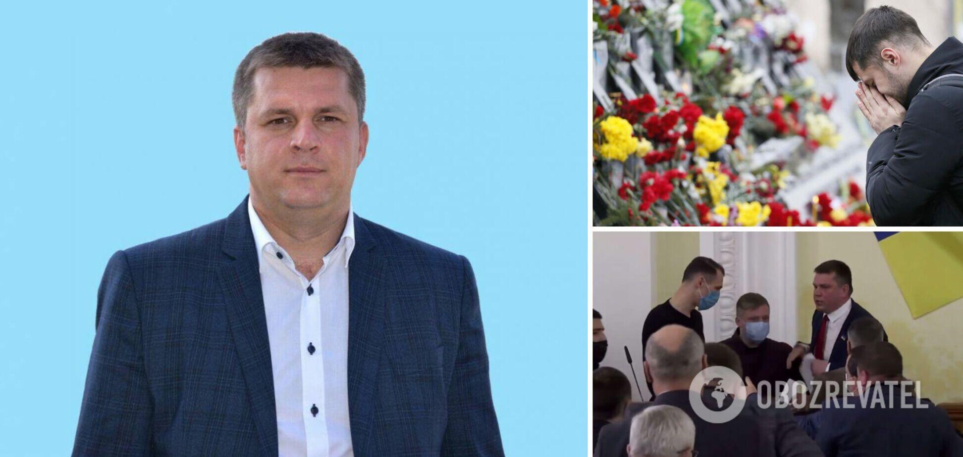Депутат Харьковского горсовета от ОПЗЖ Андрей Лесик