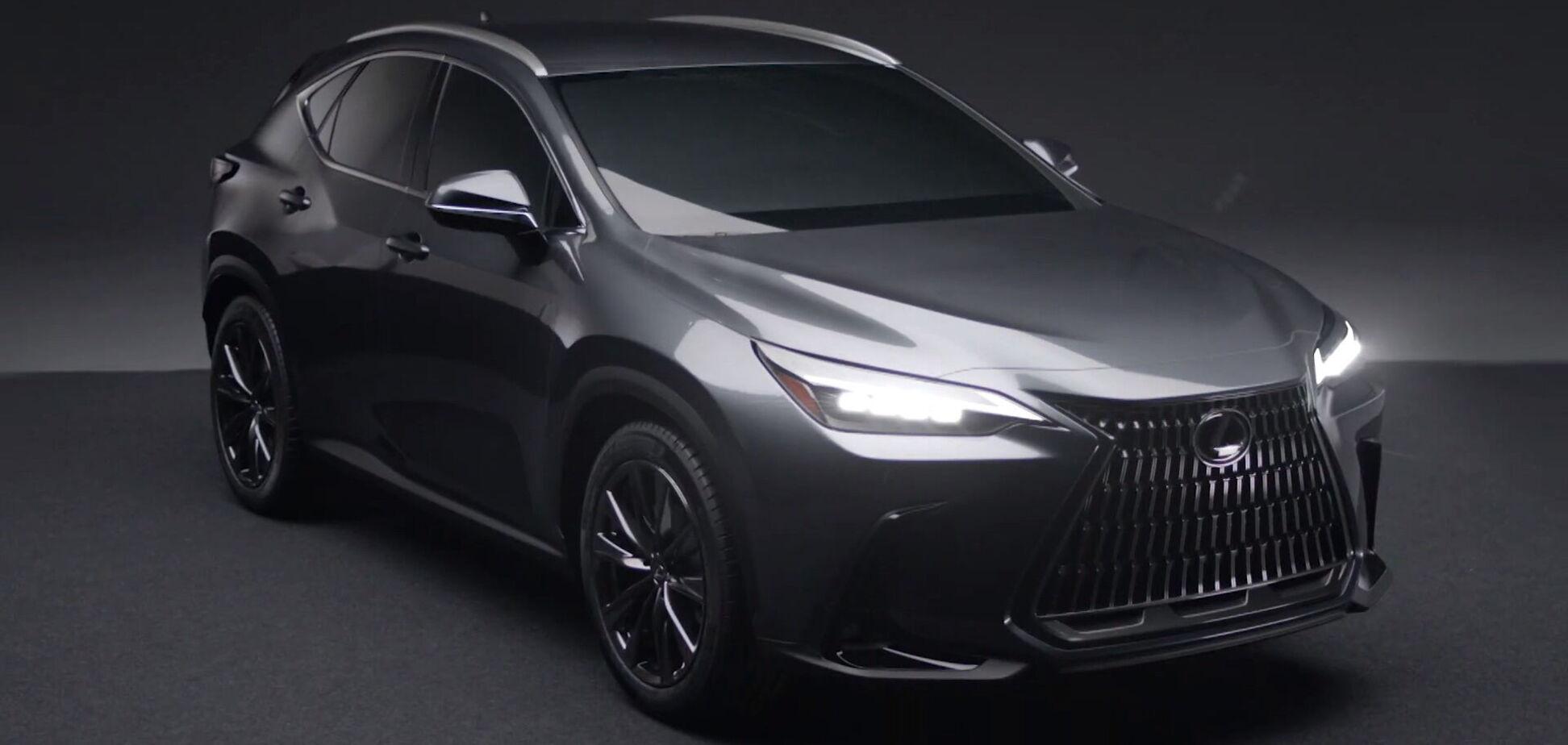 Lexus NX нового покоління розсекретили до прем'єри